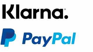 sicher zahlen mit Klarna und PayPal