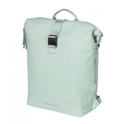 Packtasche Fahrradrucksack hellgrün Design chic