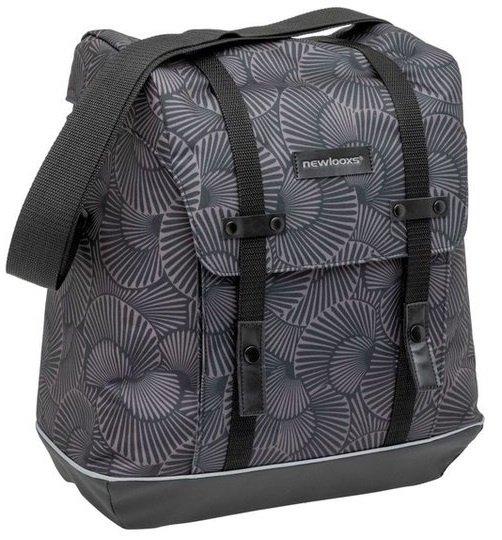 Schöne Fahrradtasche für den Einkauf: Packtasche mit 17 Liter Volumen