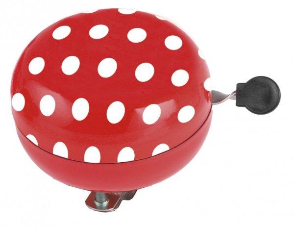 Ding-Dong Glocke Polka Dots rot