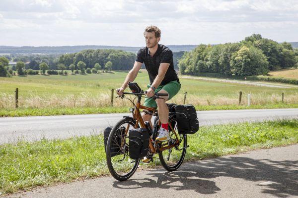 Sporty Low Rider Fahrradtasche von New Looxs