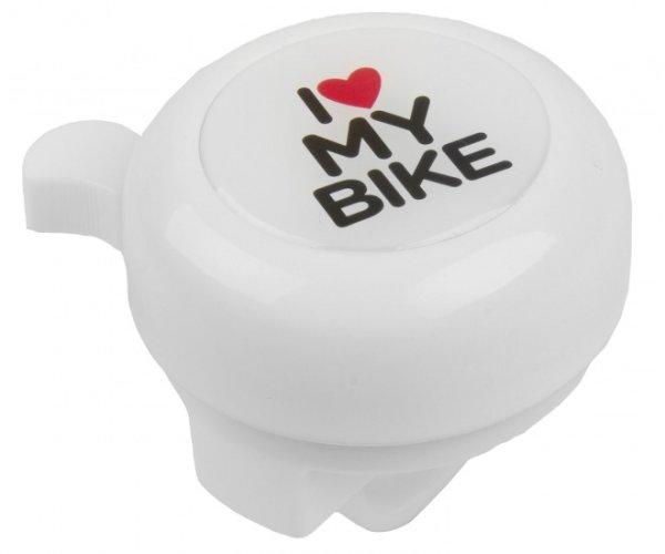 Fahrradklingel mit Liebeserklärung
