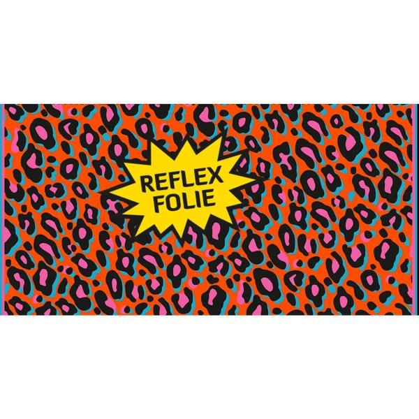 Folie Leopard Neon Orange Pink (Reflex)