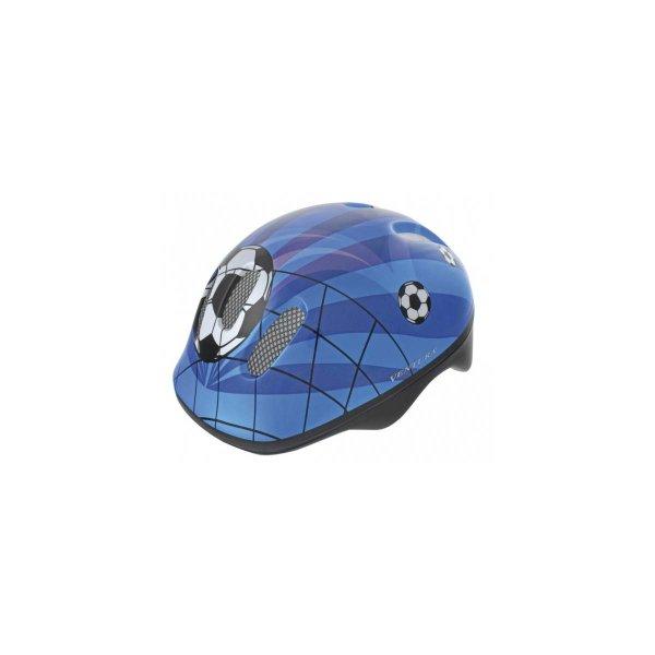 Kinderhelm Fußball (blau) Größe M