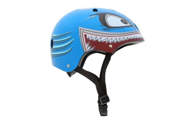 Kinderhelm Hammerhai (hellblau) Größe M