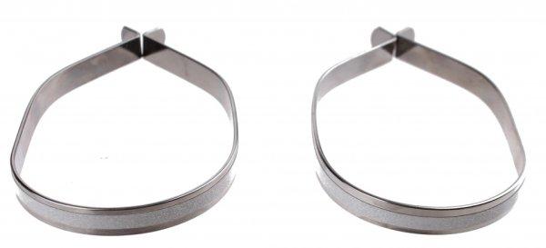 Hosenklammern mit Silberreflektoren