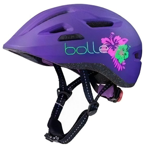 Sportlicher Fahrradhelm für Mädchen Kinder