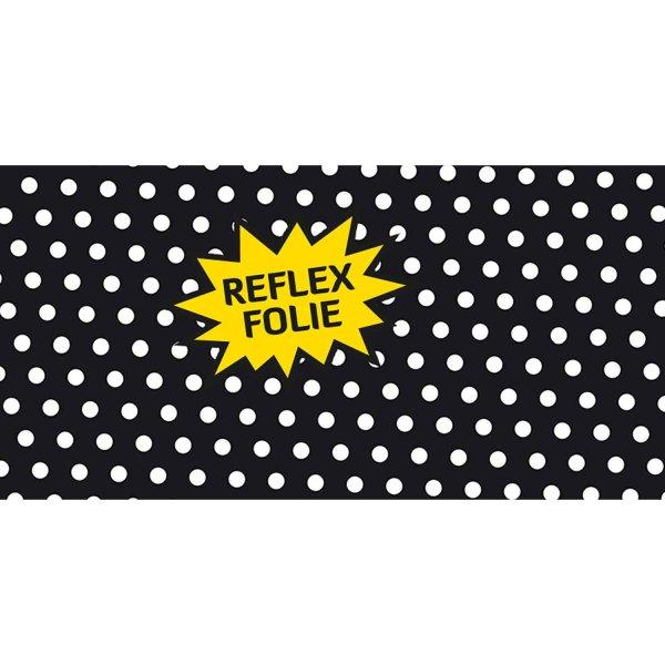 Folie Weiße Polka Dots (Reflex)