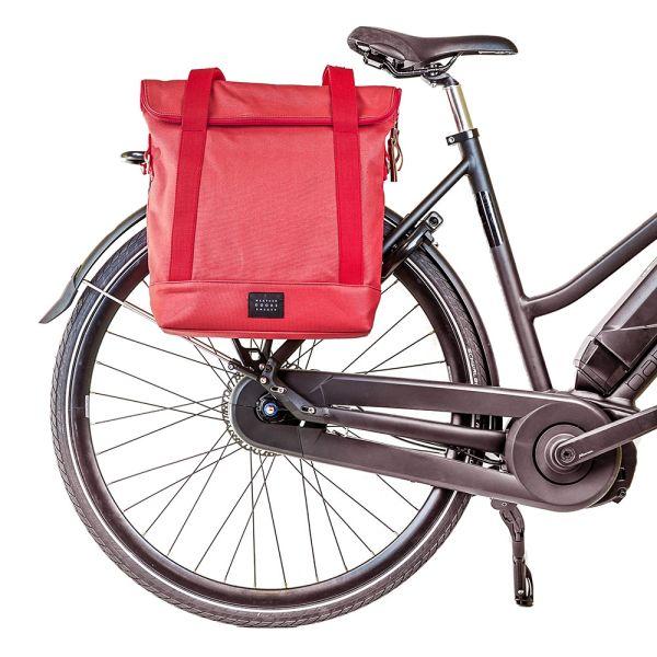 Großer Wochen-Shopper Einkaufstasche fürs Fahrrad Weather Goods Sweden